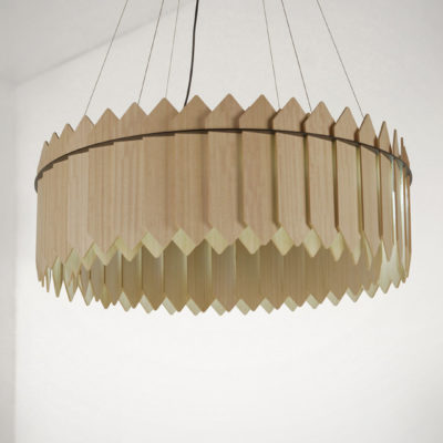 Crown Picket Pendant Lights