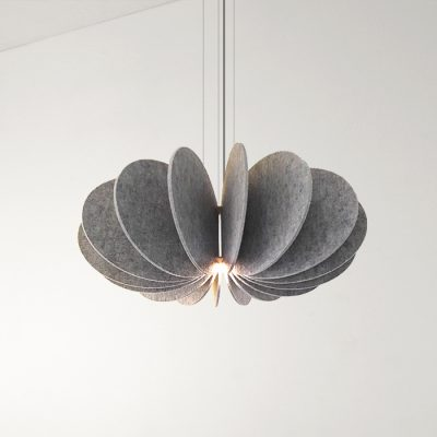 Sound Seed Pod Pendant Light