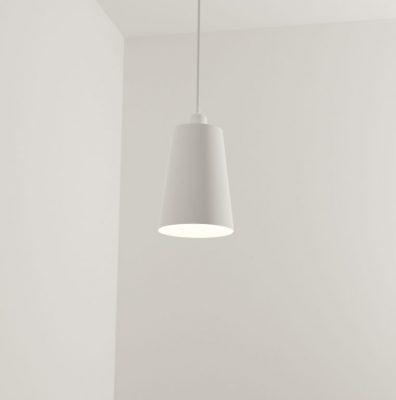 Taper pendant light